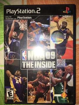 Juego NBA 09 ps2