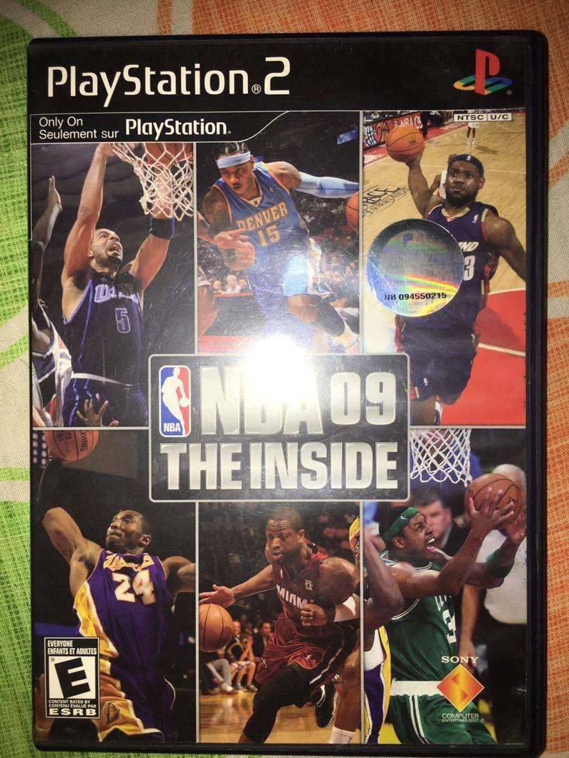 Juego NBA 09 ps2 0
