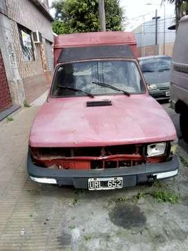 Fíat Fiorino 93 Diesel, para respuestos o armarla.