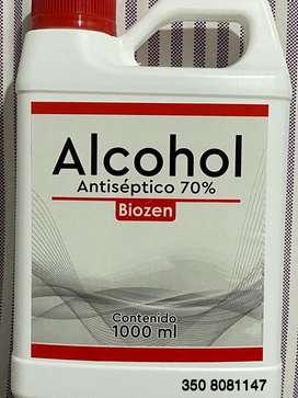 Alchol antiséptico 70%