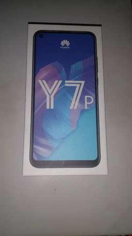 Celular Huawei Y7p nuevo color negro