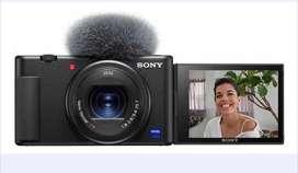 Cámara Sony ZV-1 para videoblogs