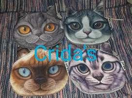 Monederos de gatos