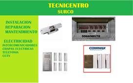 PORTEROS COMMAX SERVICIO TECNICO SURCO