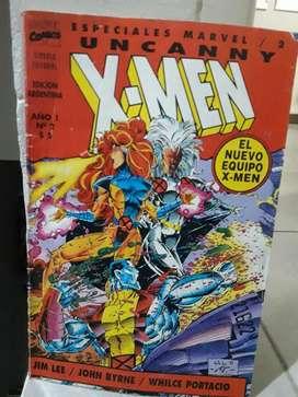 Revista X- Men Núm. 2, Edición Argentina