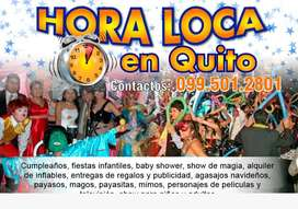 1USD ANIMACIÓN DE FIESTAS INFANTILES CUMPLEAÑOS BABY SHOWERS HORAS LOCAS PAYASOS PAYASITAS PERSONAJES