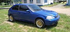 Vendo honda Civic hatchback año 2000