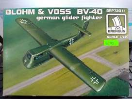 1/72 Avion Blohm Voss Bv40 Mirage Diecast Armado Mig Sukhoi