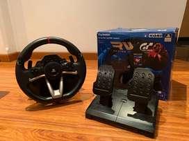 Timón Para Ps4 Y Ps3 Hori Racing Wheel Apex