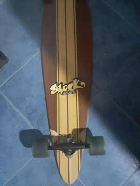 Longboard Shock 'n Blue impecable