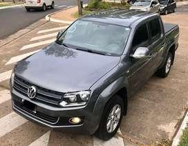 VW AMAROK 2.0 TDI 180cv HIGHLINE 4MOTION (cuero aut 4x4) 2013 FINANCIO Y RECIBO USADOS