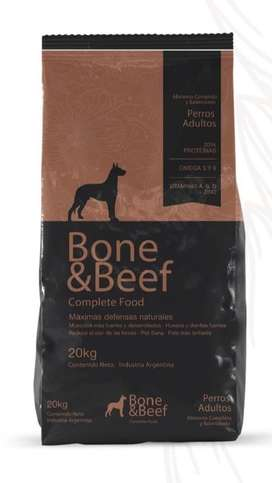 Alimento Balanceado Bone & Beef 20 KG