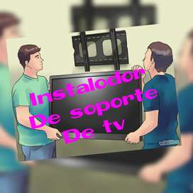 Instalo soporte de tv inmediato