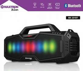 PARLANTE PORTATIL ZENITH MX201BT Maxtron / bluetooth /radio / usb