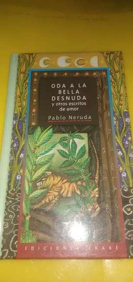 Libro de poemas Pablo neruda