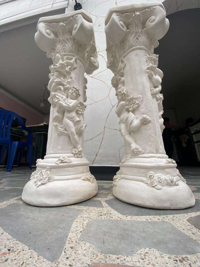 Columnas en yeso