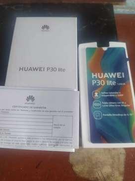 Ocasión caja sola Huawei P.30lite ,con sus manuales