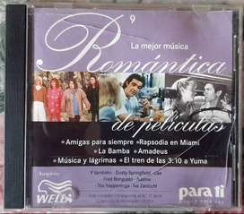 La Mejor Música Romántica Películas Para Ti Cd 17 Wella 1998