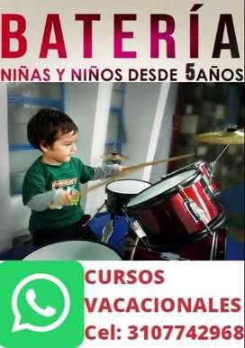 CLASES VACACIONALES DE BATERIA PARA NIÑOS (CHIA)