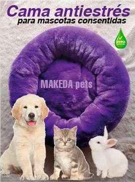 Cama para perros tipo donuts