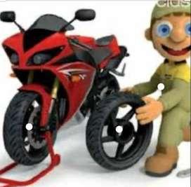 Mecánico de motos de todo tipo