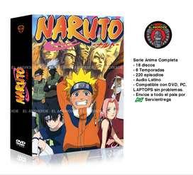 Naruto Serie Anime Completa