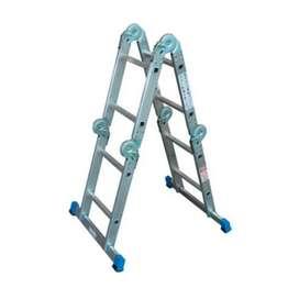 Escalera Multipropósito 2.4 Mt 8 Aluminio Redline NUEVO