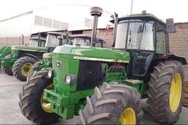 TRACTOR AGRICOLA JOHN DEERE 3650 115 HP ALEMAN Y OTROS DESDE 85 HASTA 130 HP -IMPORTADOR DIRECTO-