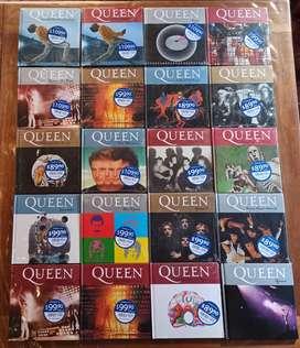 Colección Cd's/libro Queen (la Nación)