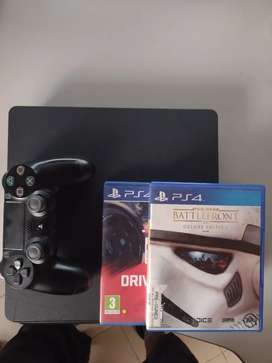 Play station 4 Slim de 1 terabyte