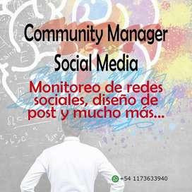 Analista de redes sociales Community managers