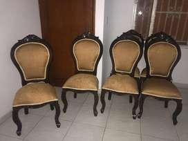 Vendo sillas para comedor