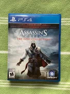 Assassins Creed The Ezio Collection Ps4 Fisico Usado