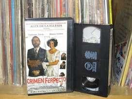 Crimen Ferpecto  2004 VHS ARG  Alex de la Iglesia