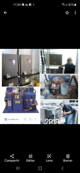 Servicio técnico en refrigeración