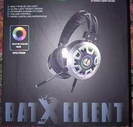 Audifonos con Luz RGB