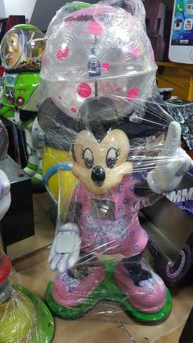 Maquina dispensadora de dulces Mini mouse