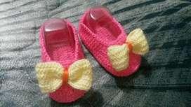 Escarpines Tejidos Crochet