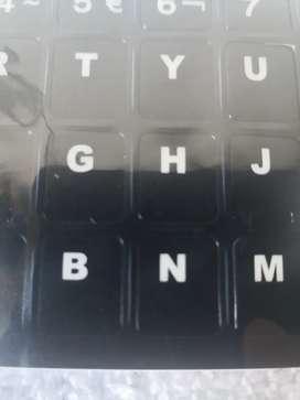 Teclas plásticas para teclados