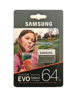 Memoria Samsung 64 128 256 a precio de x mayor