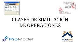 clases de simulacion /arena/flexsim/excel/promodel
