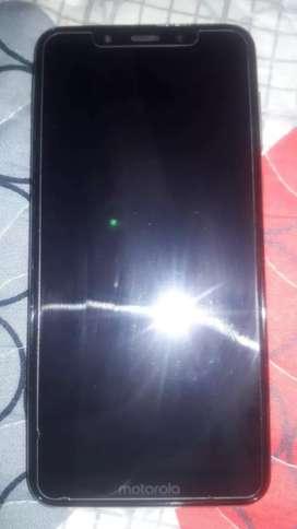 Vendo celular motorola one blanco 64gb