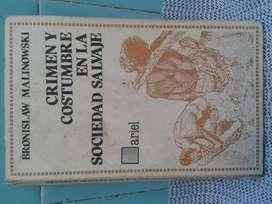 libro crimen y costumbre en la sociedad salvaje de b. malinowski