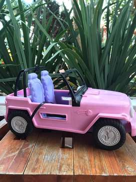 Carro de barbies