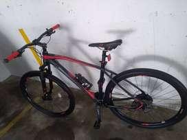 Vendo bicicleta Optimus 9 vel talla L