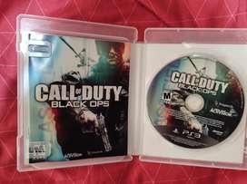 Kill zone 2 y Call o duty black ops 1 y 2 para ps3