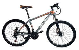 Bicicleta MTB Aro 26 Frenos De Disco