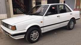 Auto nissan sunny de 1985