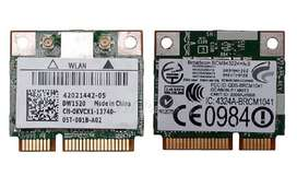 Tarjeta Wifi Laptop Doble Banda 2.4ghz/5ghz Acer Dell Toshiba Sony Samsung Nuevas