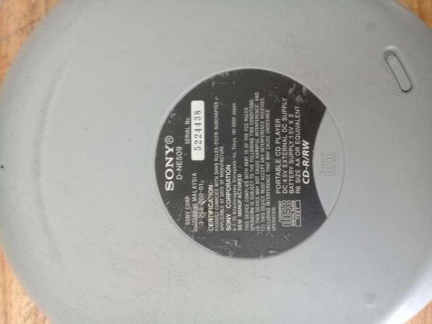 Discman Sony Cd Mp3 0